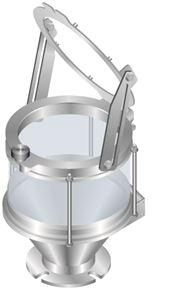 Picture of HOPPER 6 LITRE - GLASS (HINGED)